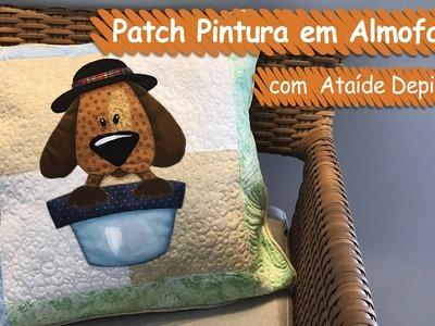 Almofada Cachorro - Ataíde Depizzol | Vitrine do Artesanato na TV - Gazeta