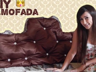 DIY| Almofada Cabeceira e ou Encosto de Sofá