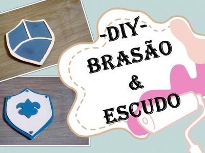 DIY - Brasão & Escudo em EVA