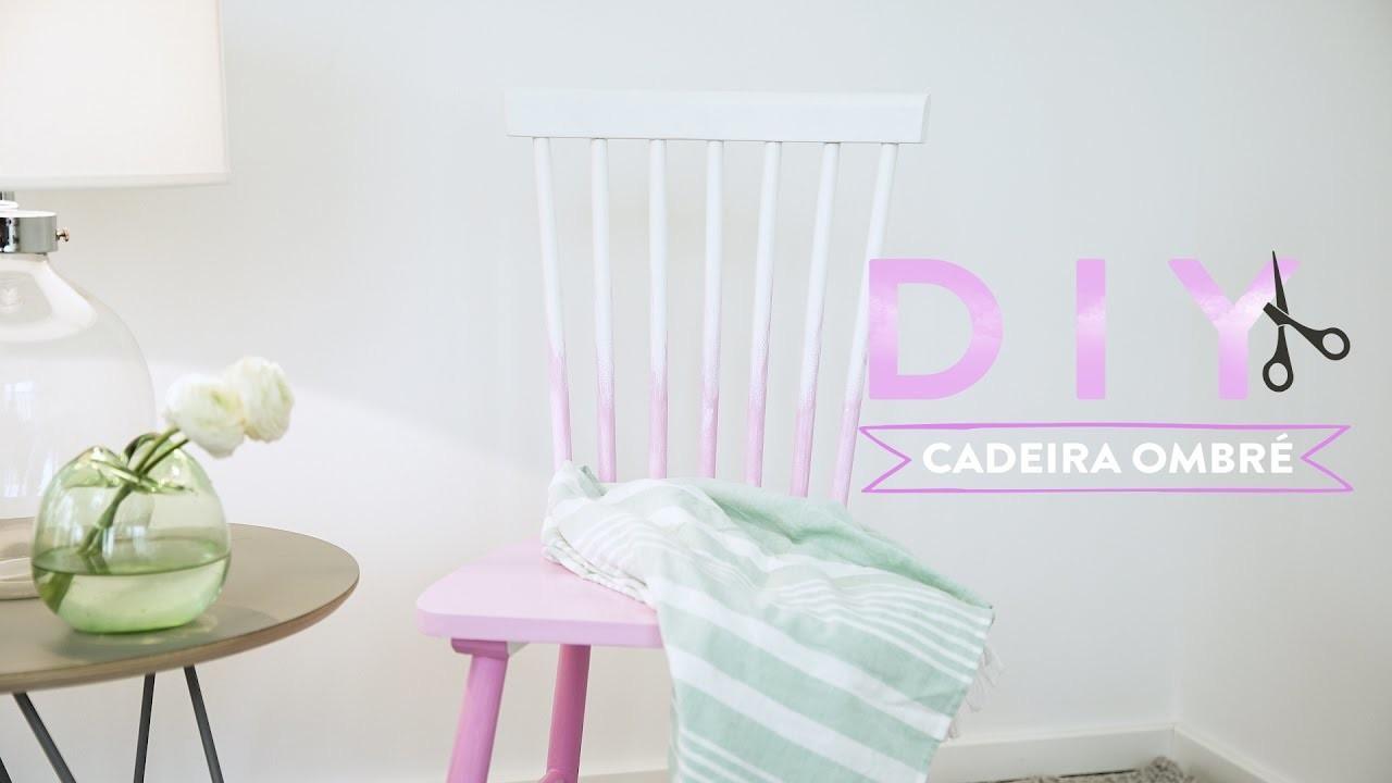 DIY: Cadeira ombré | WESTWING