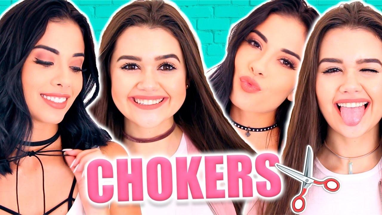 DIY Chokers ESTILOSAS com Thalita Ferraz