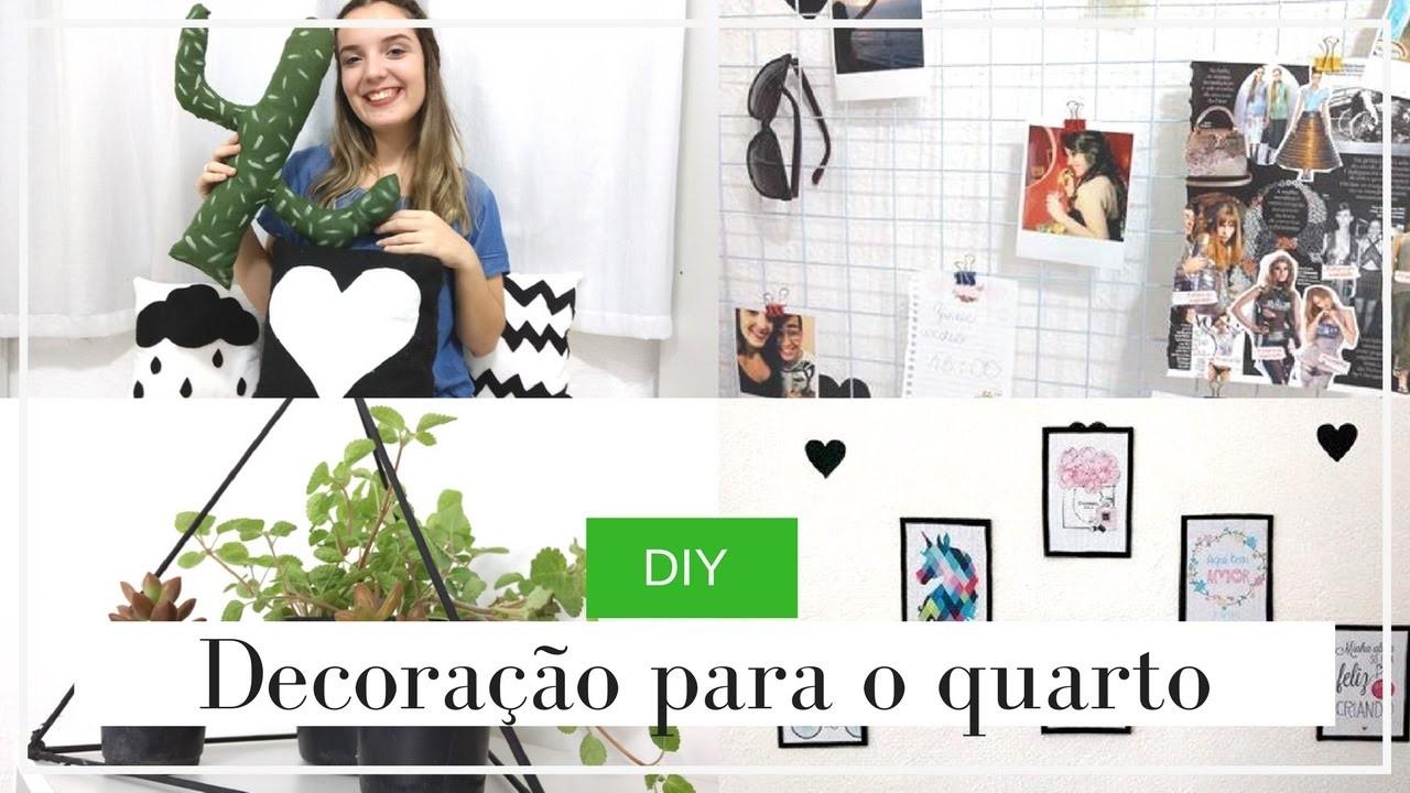 DIY - DECORAÇÃO PARA O QUARTO | Victoria Bonna