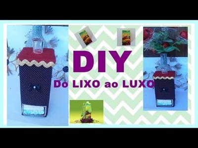 DIY: Do LIXO ao LUXO#1:  Ideia que você precisa aprender=Porta Absorvente
