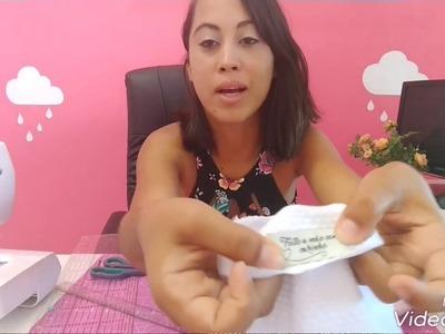 DIY - organizador de tecido - Camilla Gomes