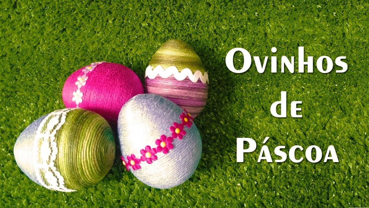 DIY Ovinhos de Páscoa - Passo a Passo