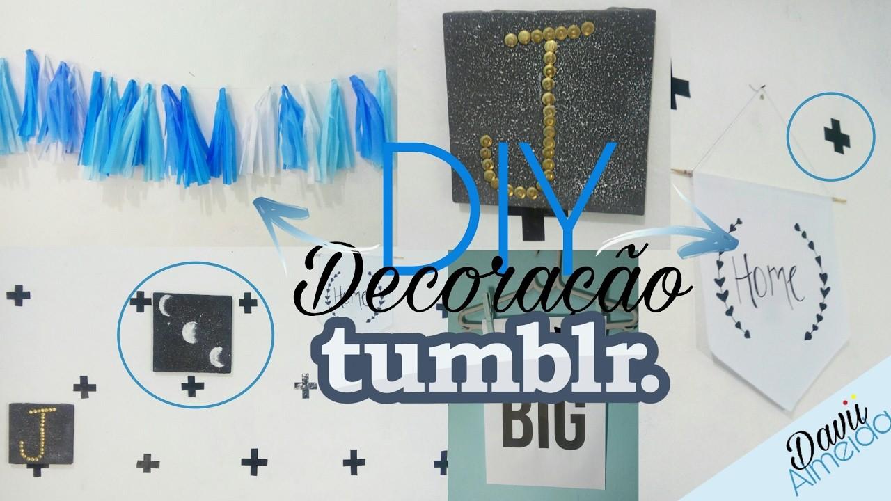 5 DIY fáceis e baratos de decoração pra você fazer ????❤.Davii Almeida