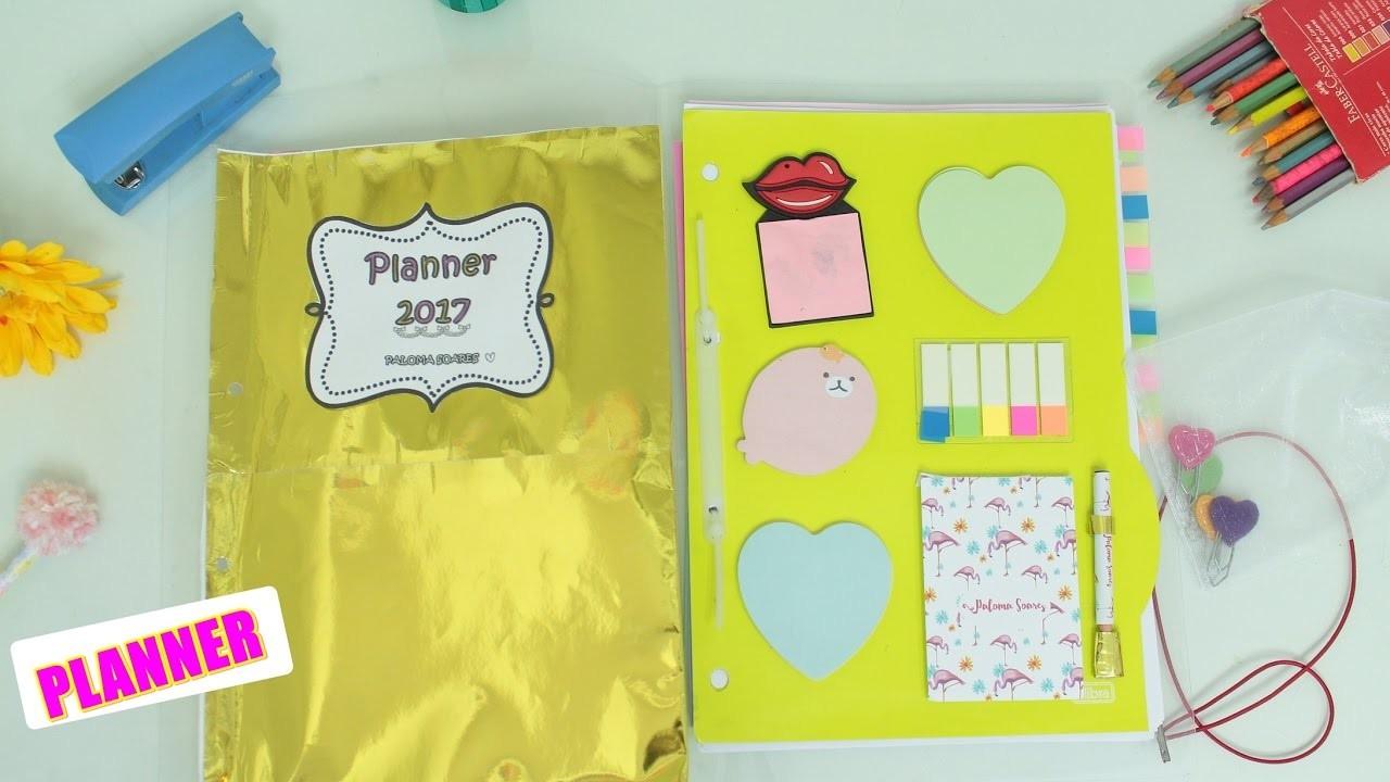 Como fazer um Planner Barato | Organização Anual | Paloma Soares