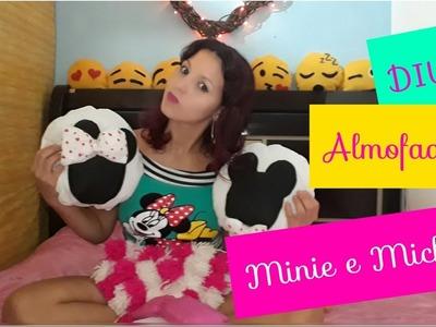 DIY: Almofadas da Minie e Mickey  decore seu quarto .