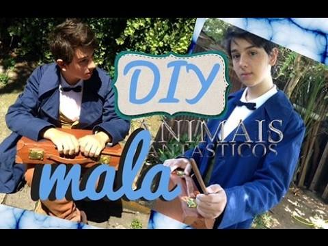 DIY - Mala Newt Scamander - Cosplay  - Animais Fantásticos e Onde Habitam - Julio Zuccoloto