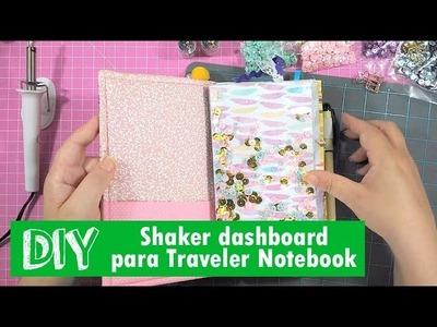 DIY - shaker dashboard para Deiadori (e outros Traveler Notebook) (PT-BR)