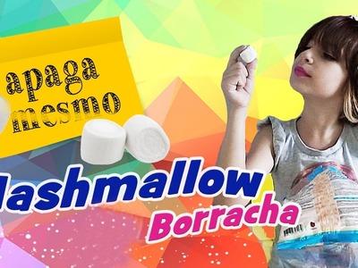 Marshmallow Borracha com Sarinha (Material Escolar, DIY, Como Fazer, Trollagem)