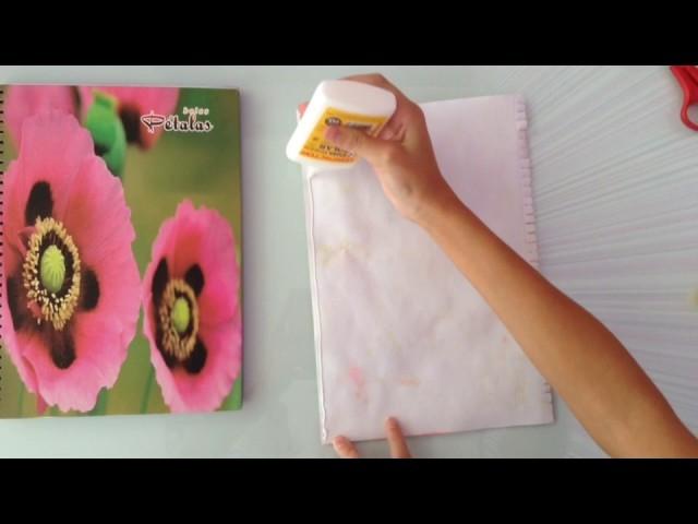 Caderno DIY