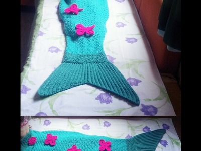 Cauda de Sereia em Croche. Crochet Mermaid Tail