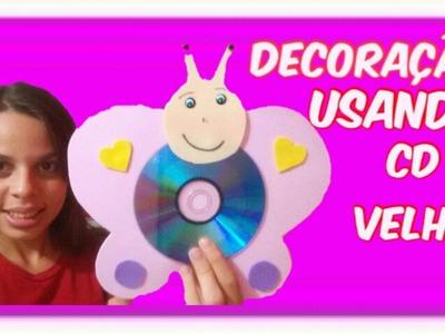DECORAÇÃO USANDO CD PARA CLASSE DA E.B.D | Gabriele Rios