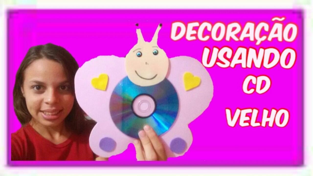 Decoração Com Cd ~ DECORA u00c7ÃO USANDO CD PARA CLASSE DA E B D, Gabriele Rios