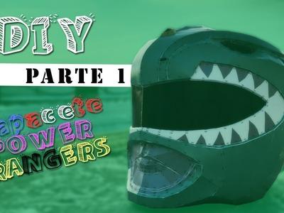 DIY - Capacete Power Rangers - 01    Luquinhas V4