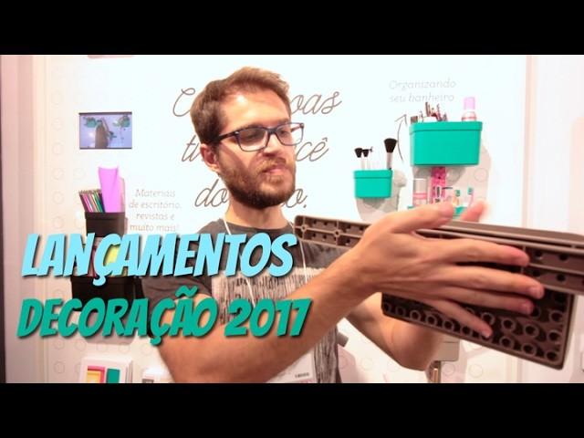 Lançamentos de decoração 2017 - Abup e Gift Fair - Vlog