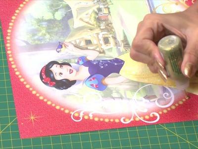 Paper Show 54 - Silhouette fazendo quadros decorativos