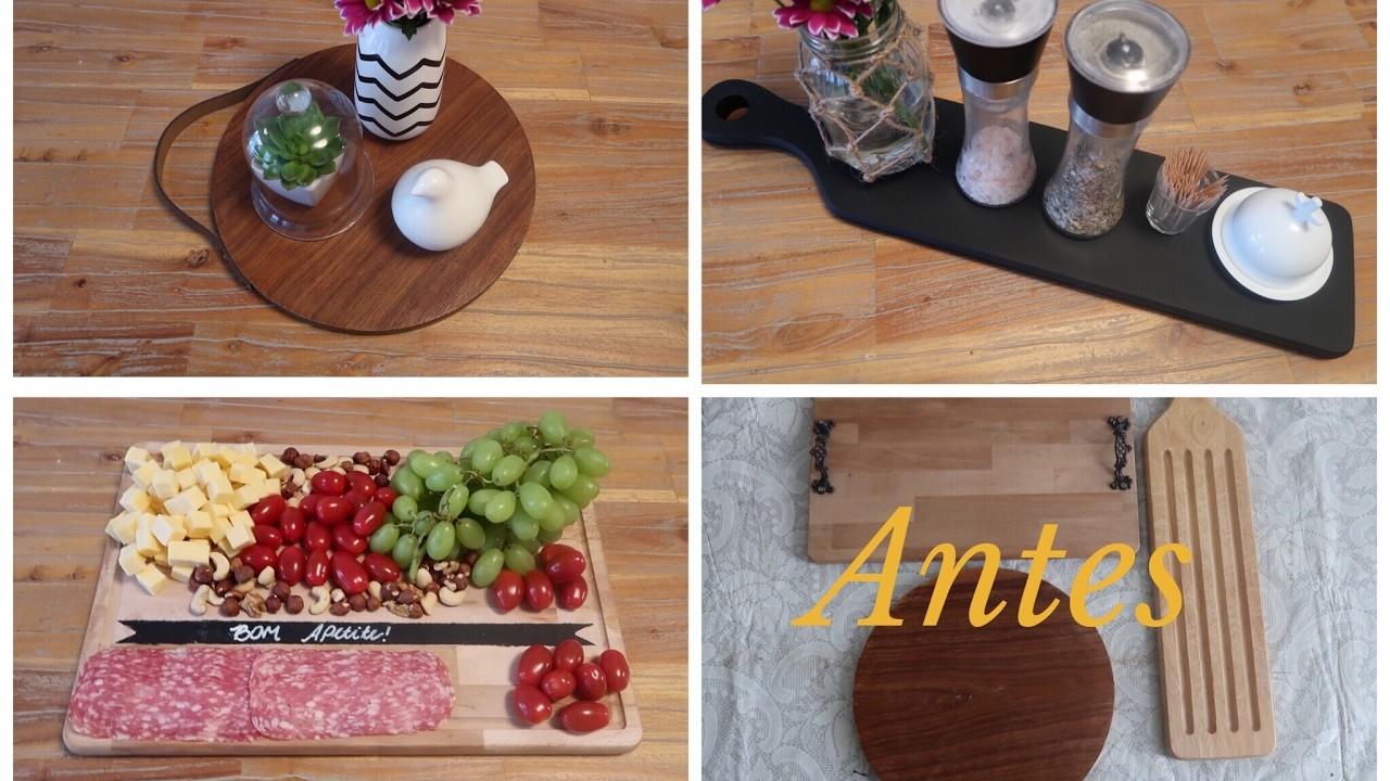 3 Tábuas de cozinha de cara nova - diy