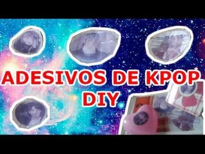 Adesivos de Kpop - DIY
