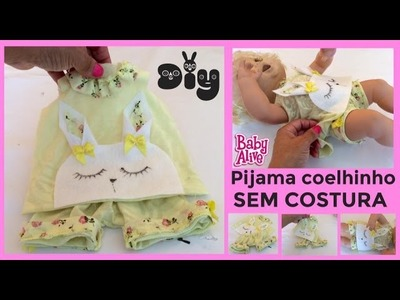 Como fazer SHORT DOLL para BABY ALIVE  e OUTRAS BONECAS [Diy] Risoleta