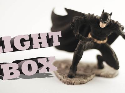 COMO FAZER UMA LIGHT BOX BARATA EM CASA | DIY