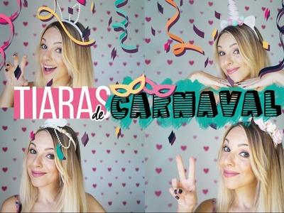 DIY - 4 tiaras de carnaval para arrasar nos bloquinhos | SPRING TEEN