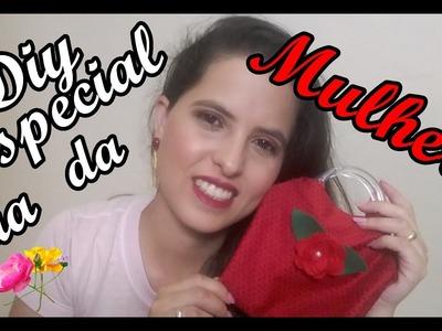 #Diy: Bolsinha Sem Costura#  ♥Especial Dia da Mulher♥