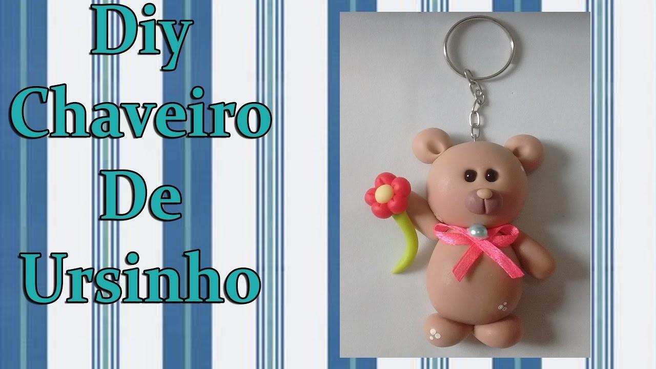Diy Chaveiro De Ursinho