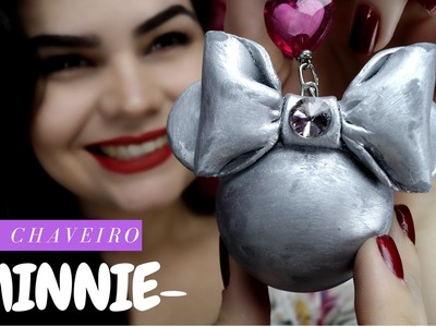 Diy  - Chaveiro Minnie
