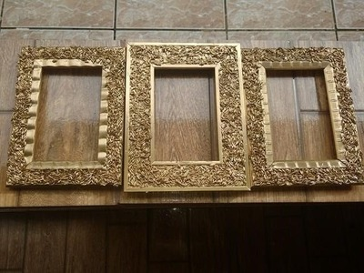 DIY: Como decorar porta retratos com grão de arroz lindo e decorativo