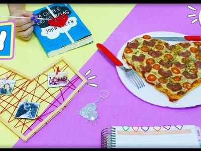 DIY CORAÇÃO ???? Pizza + Fofa do Mundo, Chaveiro, Mural e +