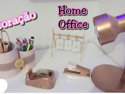 DIY:. Decoração de Home Office. por Gisele Bueno