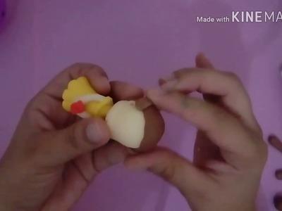 DIY | Lembrancinha da Princesa  Bela em biscuit