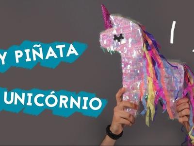 DIY Piñata - Como fazer uma Pinhata de unicórnio