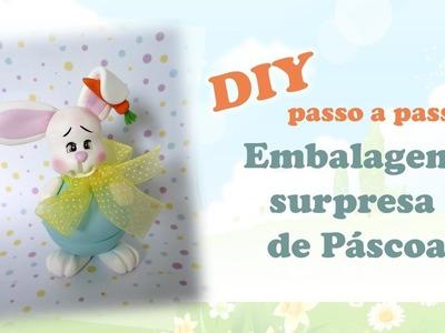 DIY -  Porta doce surpresa de páscoa