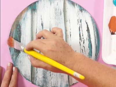 DIY - Relógio rústico em madeira de demolição