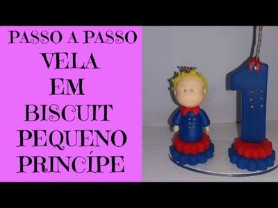 DIY--VELA EM BISCUIT PEQUENO PRINCÍPE BY- MARCIA BISCUIT