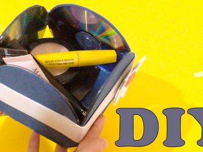 Do Lixo ao Luxo : Caixa Feita com CD Usado - DIY Artesanato