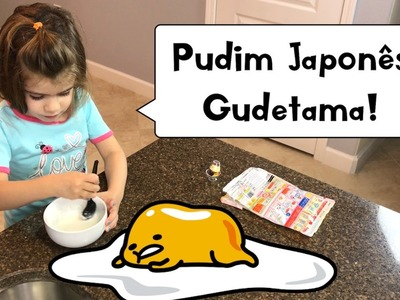 PUDIM JAPONÊS GUDETAMA | Gudetama Japanese DIY Kit Pudding