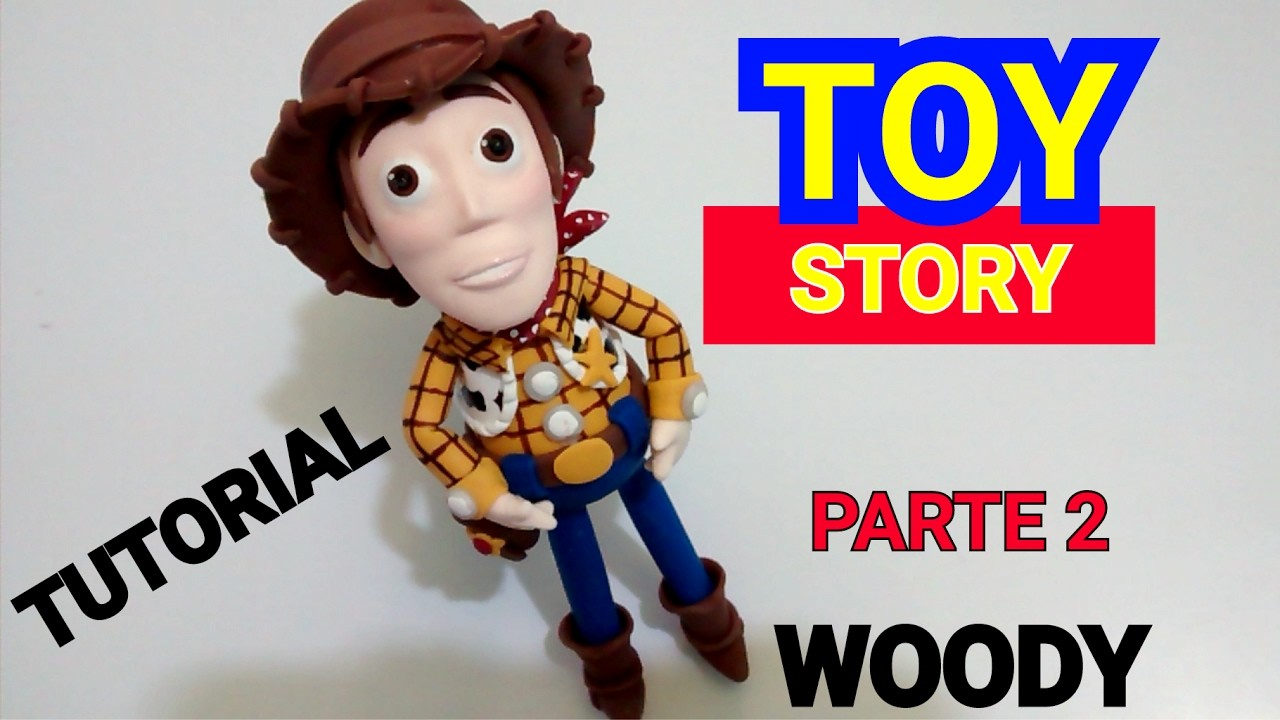 WOODY TOY STORY(PARTE 2) TUTORIAL-COLD PORCELAIN