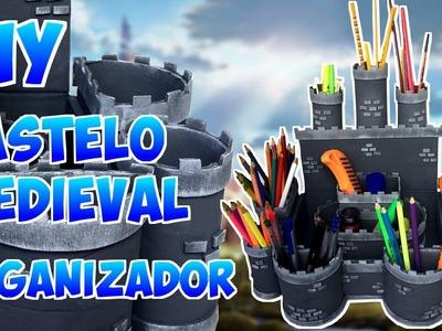 Castelo medieval organizador DIY