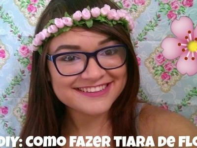 ❤DIY: Como fazer coroa de flores | Nay Araújo