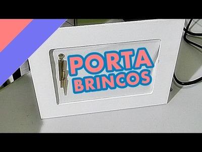 DIY - PORTA BRINCOS - NATHY TDO DIA EM FEVEREIRO #12 | Dica da Nathy