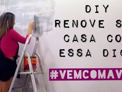 DIY: Renove sua casa com essa dica