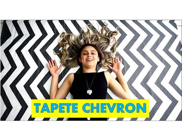 FAÇA VOCÊ O SEU TAPETE CHEVRON!!