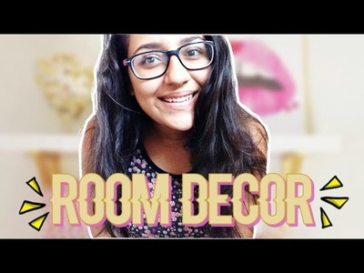 IDEAS PARA DECORAR TU CUARTO!. ROOM DECOR IDEAS!