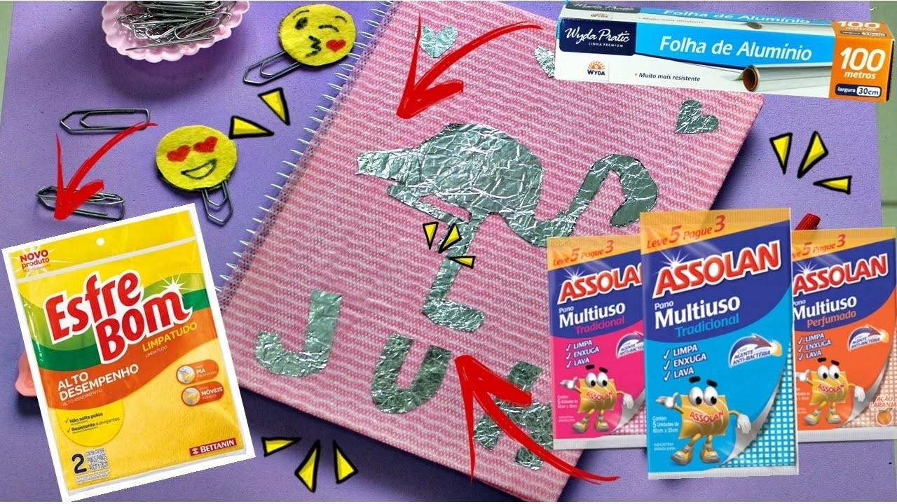 Kit Escolar Tumbrl com Produtos de limpeza - DIY Volta as aulas