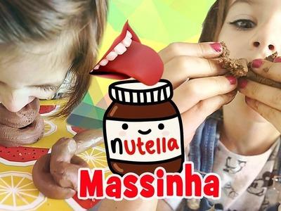 Massinha de Nutella Comestível Caseira ♥ IGUALZINHO! (DIY, Como fazer, Trollagem) com Sarinha