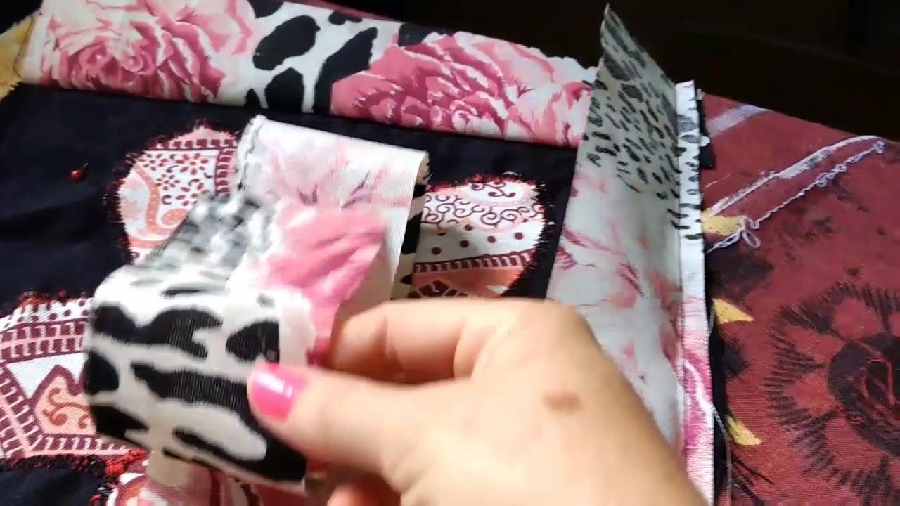Tapete de tiras em tecidos